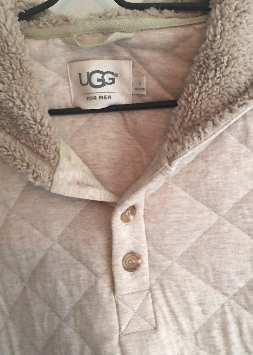 Men's Ugg cream sweater size S