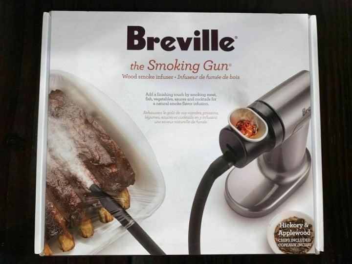 Breville The Smoking Gun Wood Smoke Infu