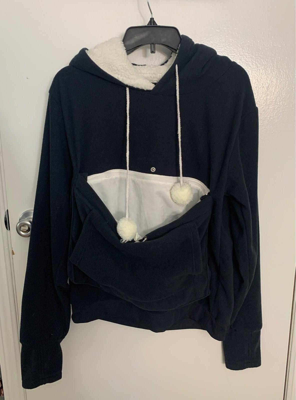 Pet holder hoodie