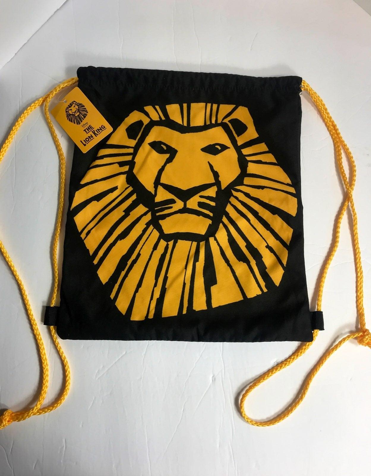 Disney Lion King Draw String Cinch Bag 1