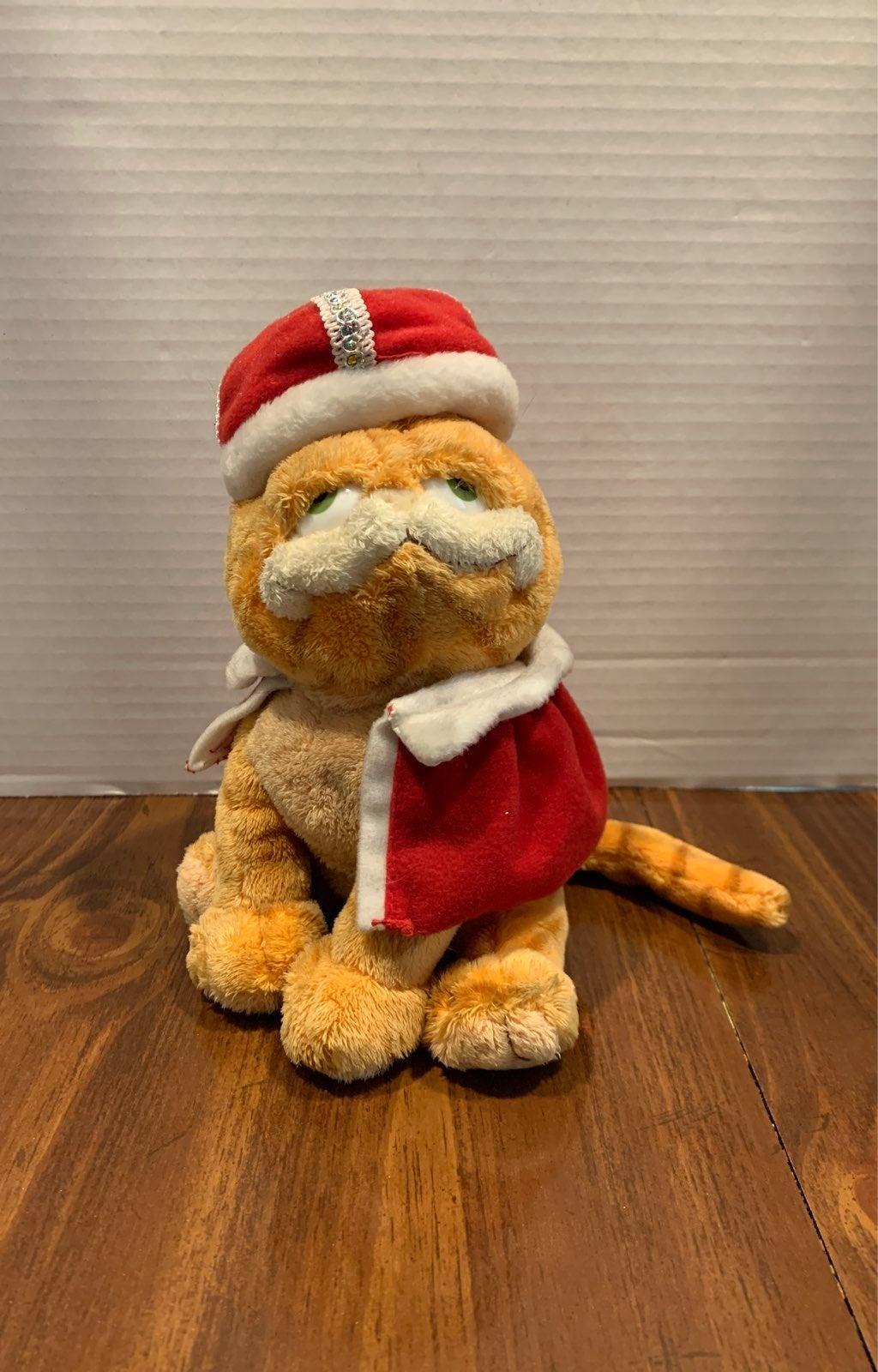 Ty His Majesty Garfield Beanie Baby