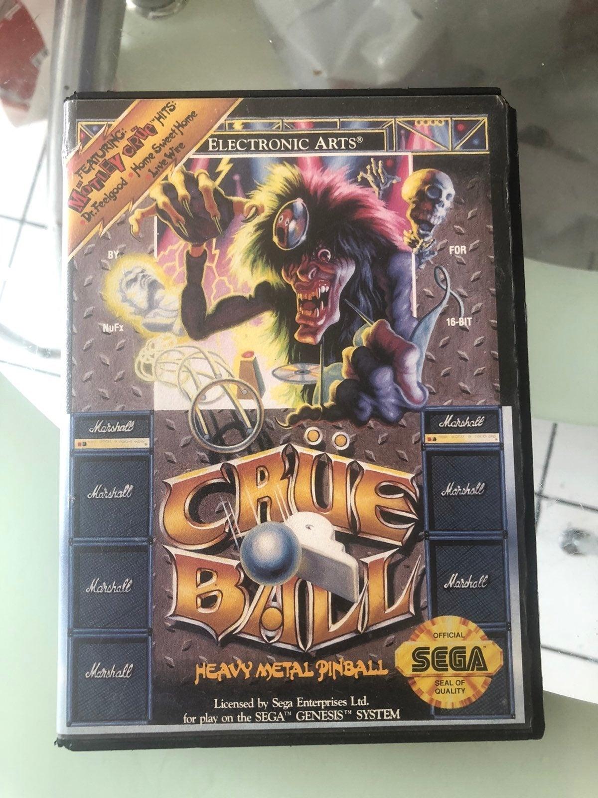 Sega genesis crue ball