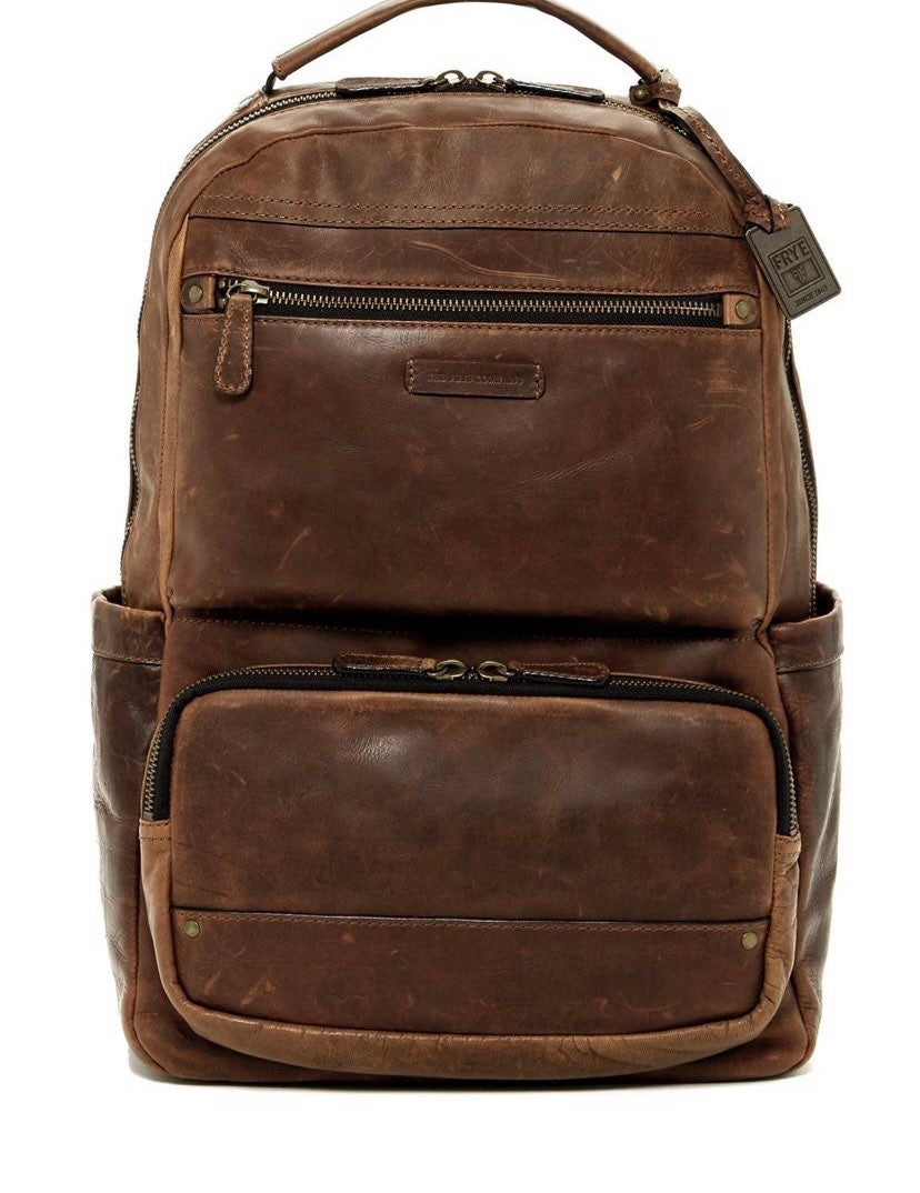 Frye Co. Leather back pack