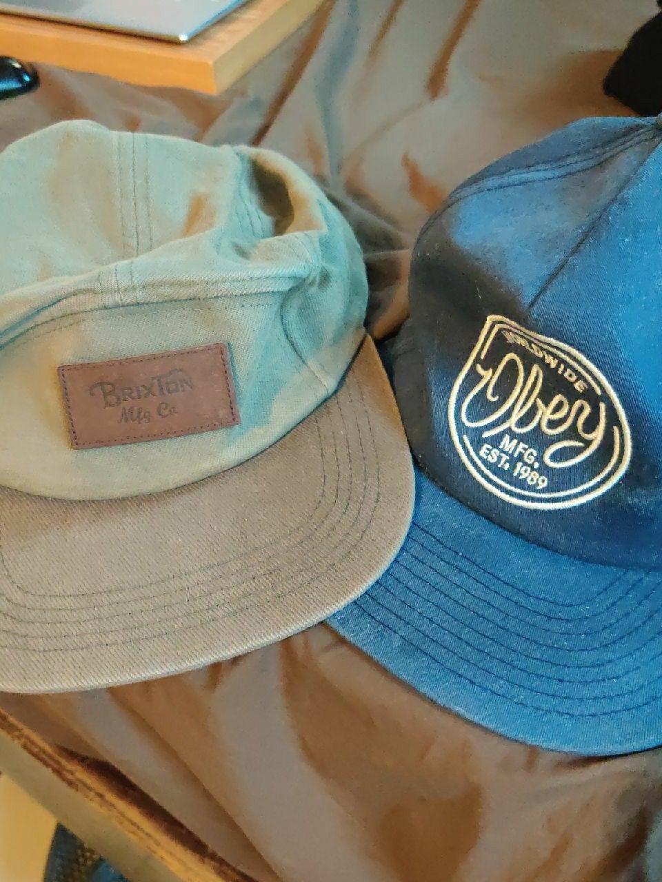 Brixton / Obey hats