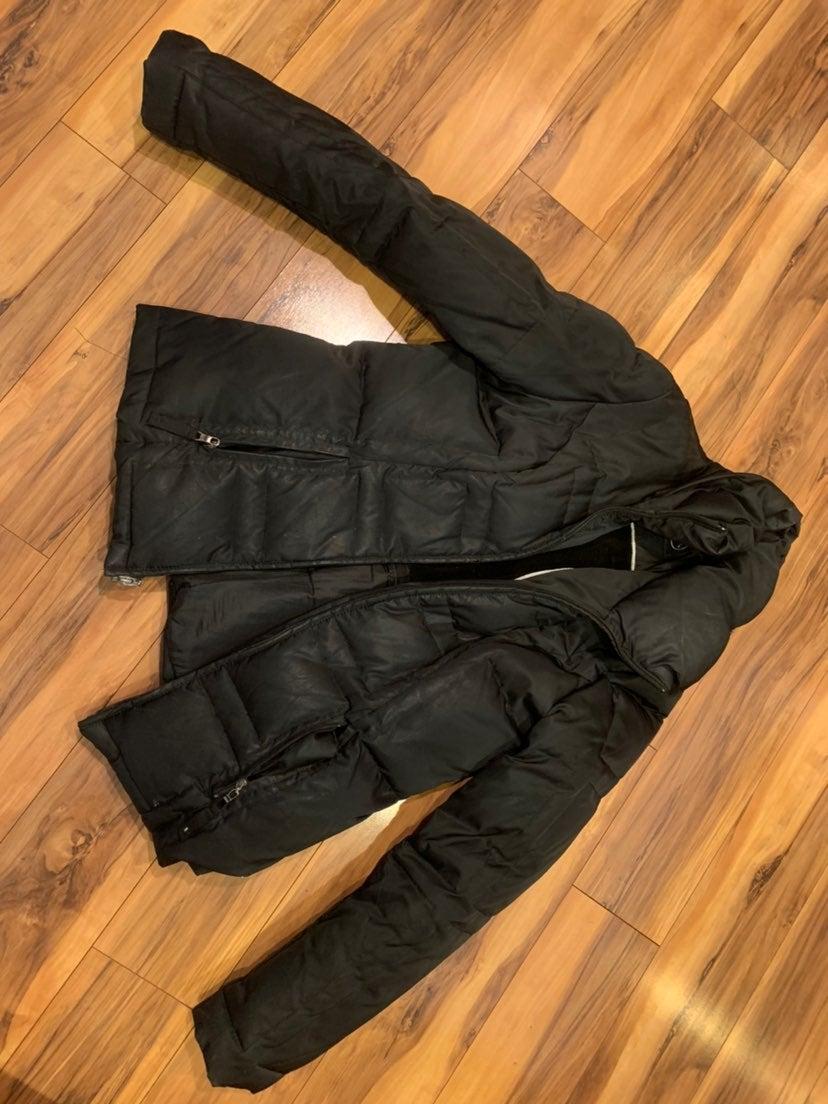 Madison black womens winter coat