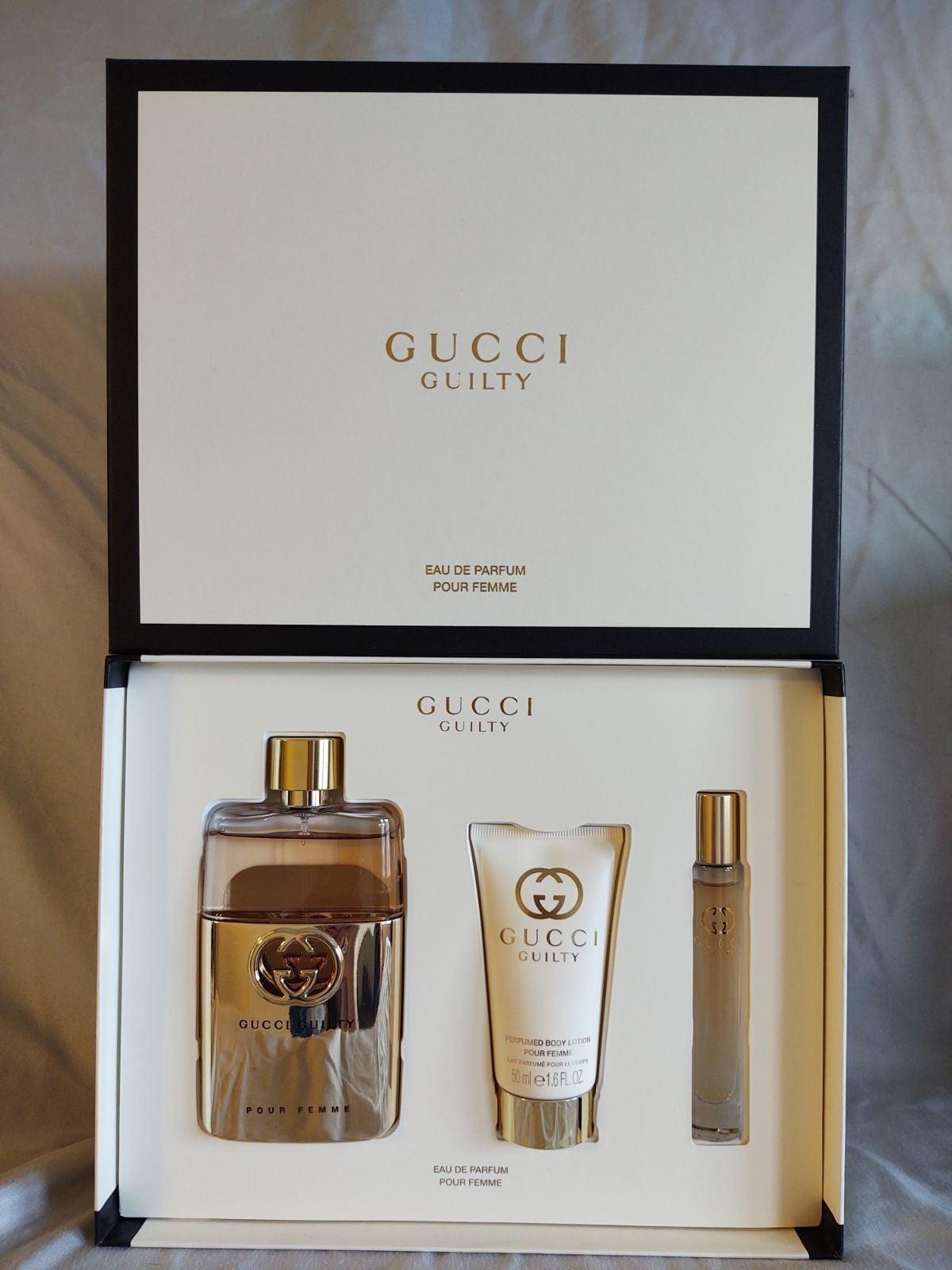 Gucci Guilty perfume set