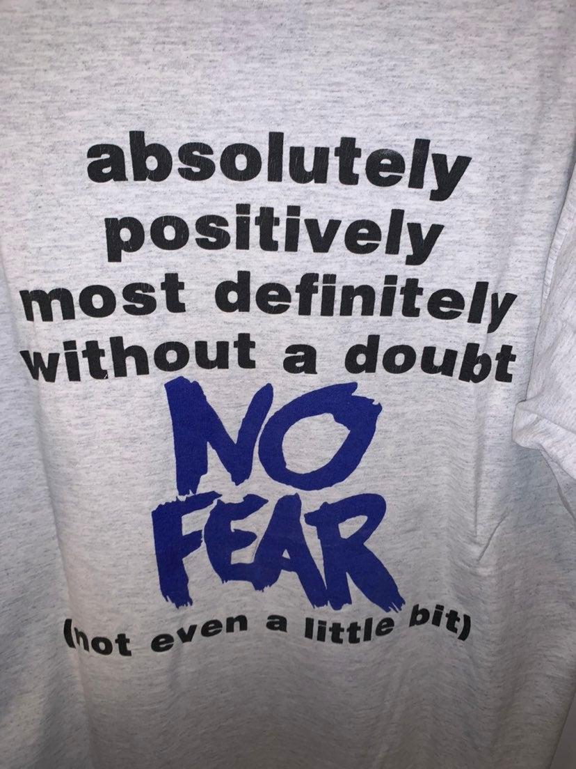 No Fear Vintage Single Stitch Tshirt
