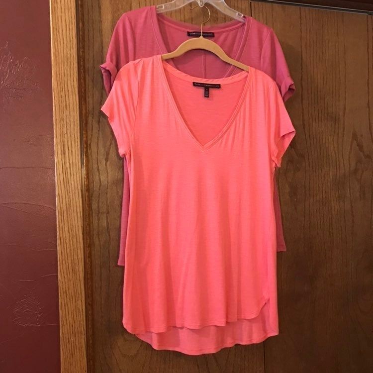 WHBM Tees set of 2 size small