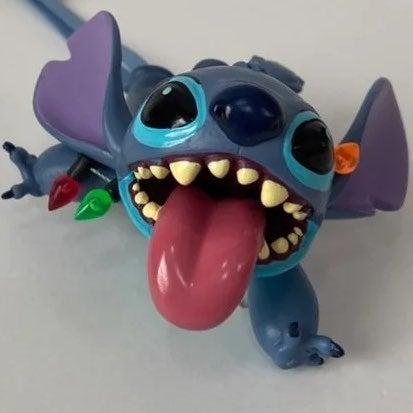 Disney Stitch Crashes Christmas Ornament