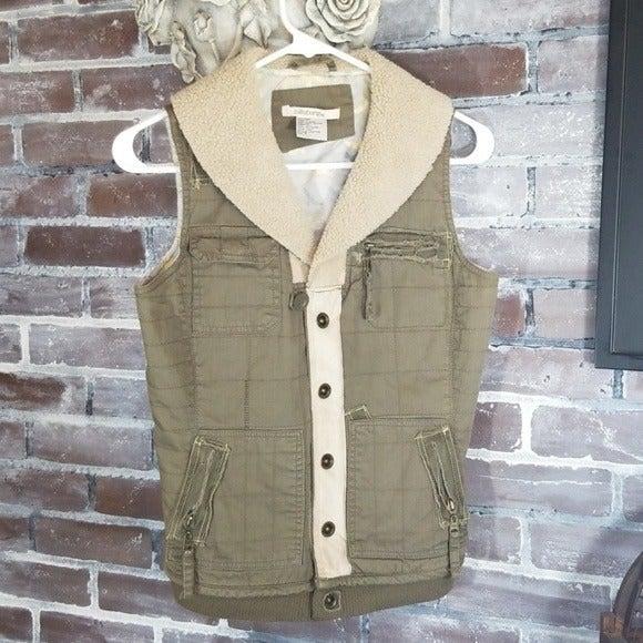 Green/Tan Small Billabong Vest