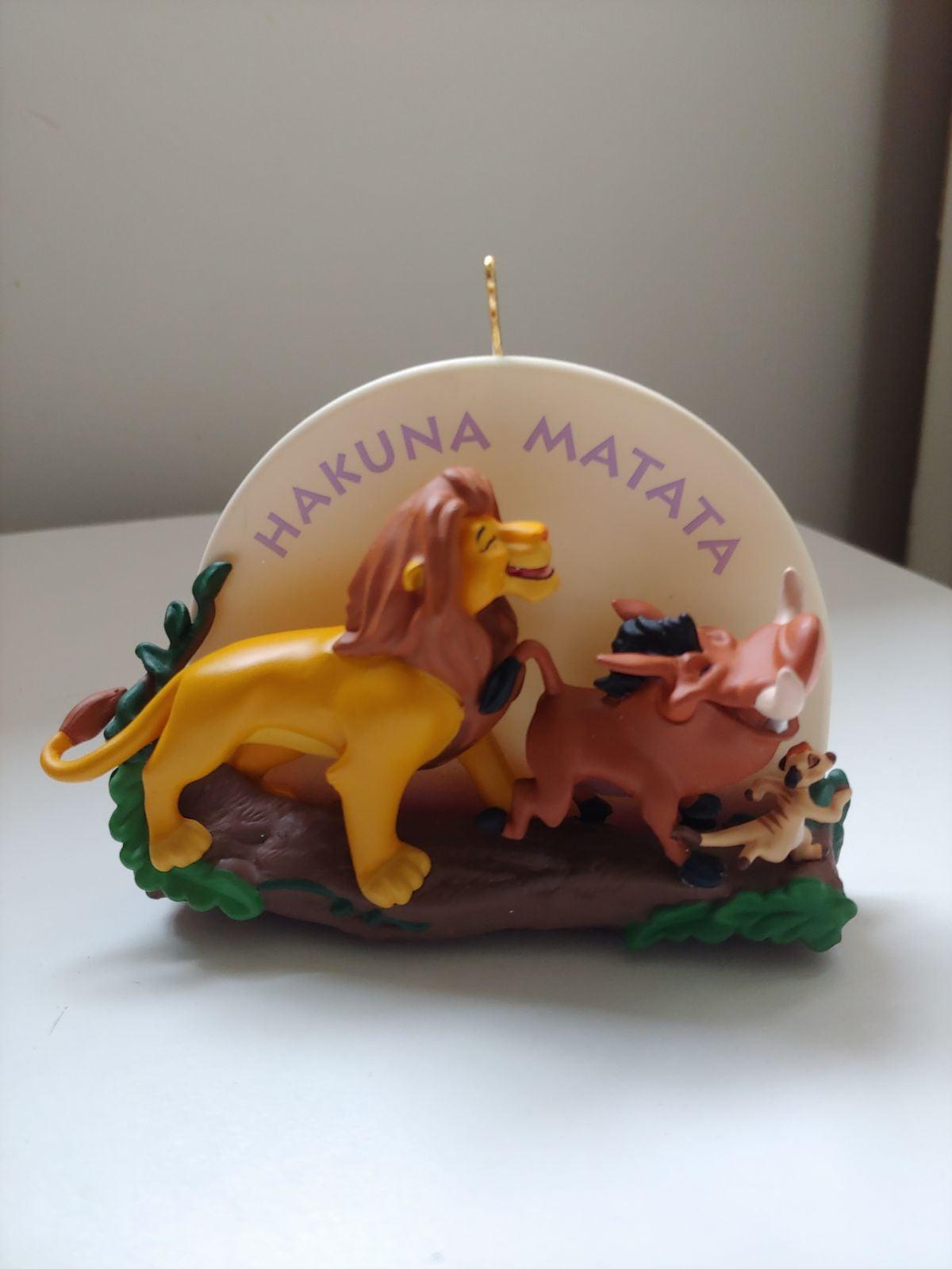 Hallmark Keepsake Disney Lion King Ornam