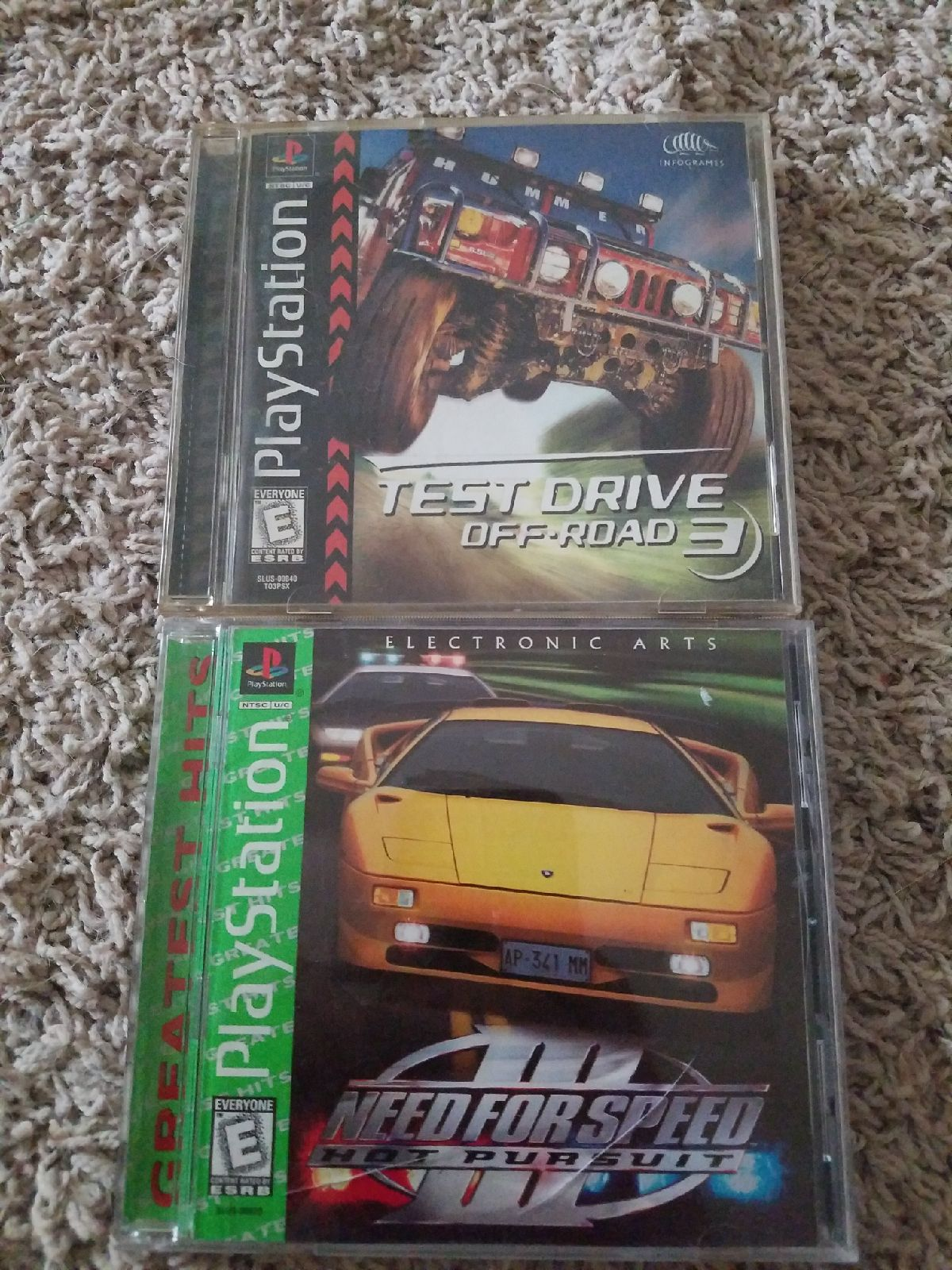PS1 Racing games