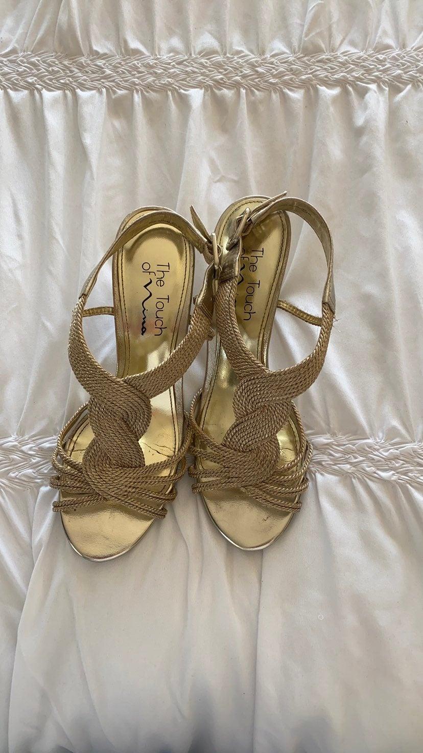 Nina Healed Sandals