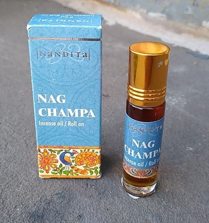 Nag Champa  Roll On Oil NEW  Fragrance