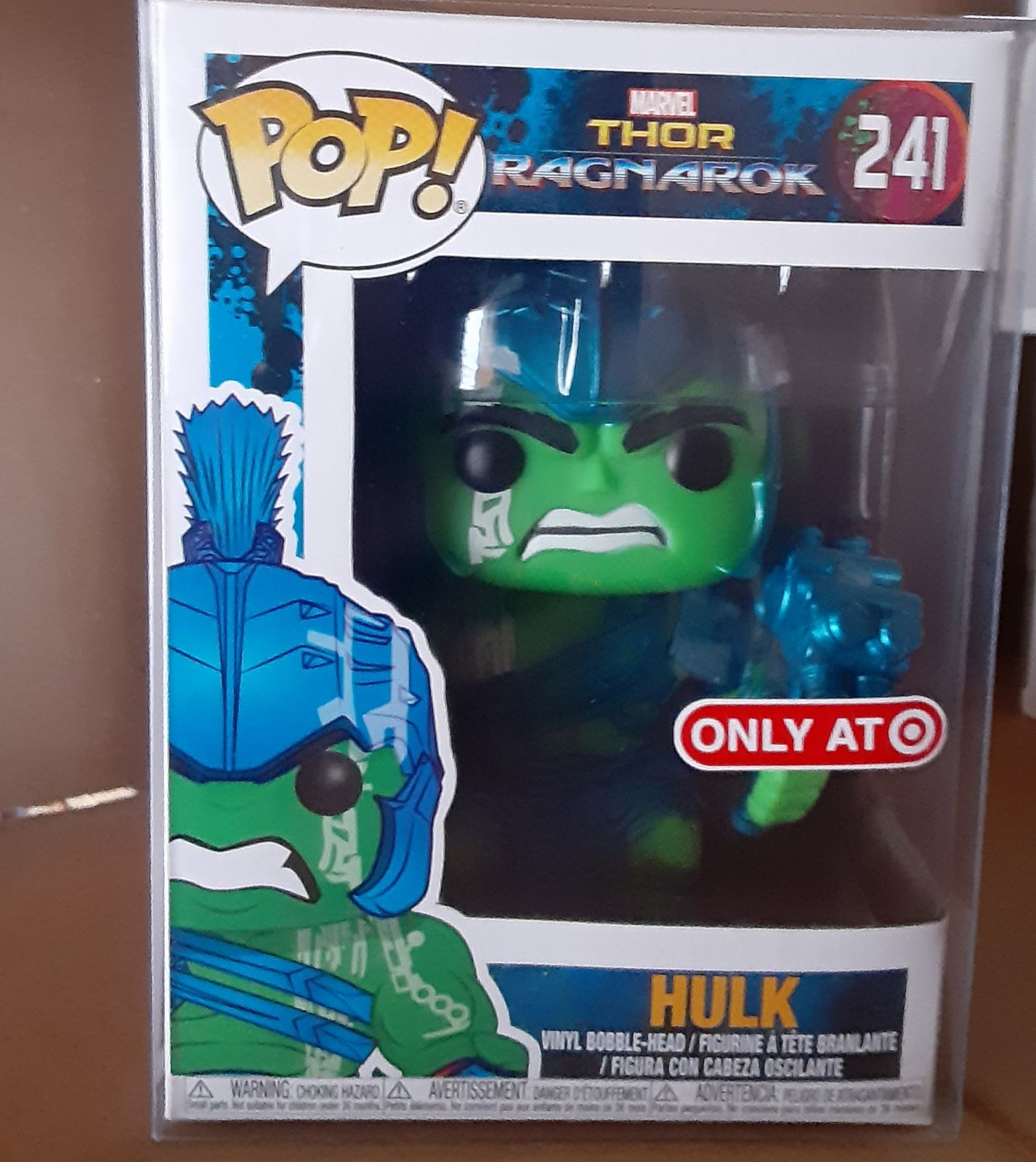 Funko Pop Metallic Gladiator Hulk Target