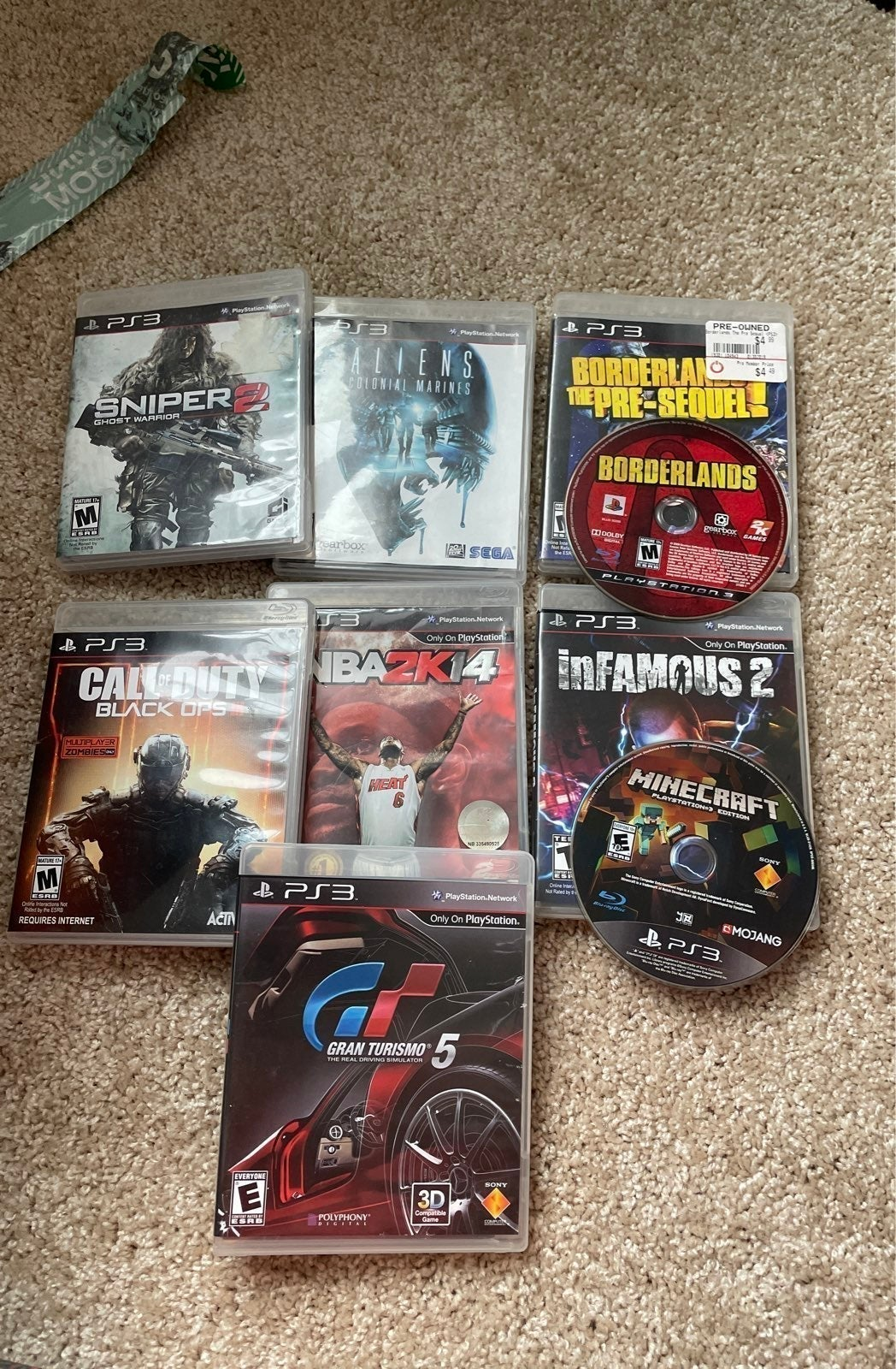 Lot of 9 PS3 games