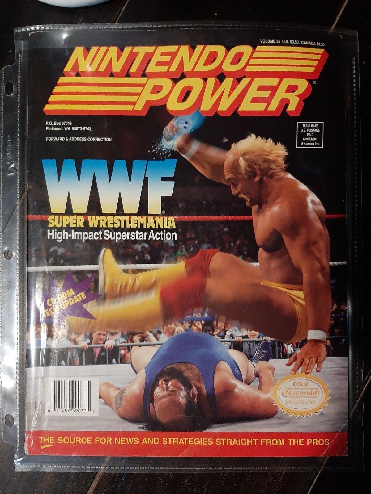 Vintage Nintendo Power magazine volume 3