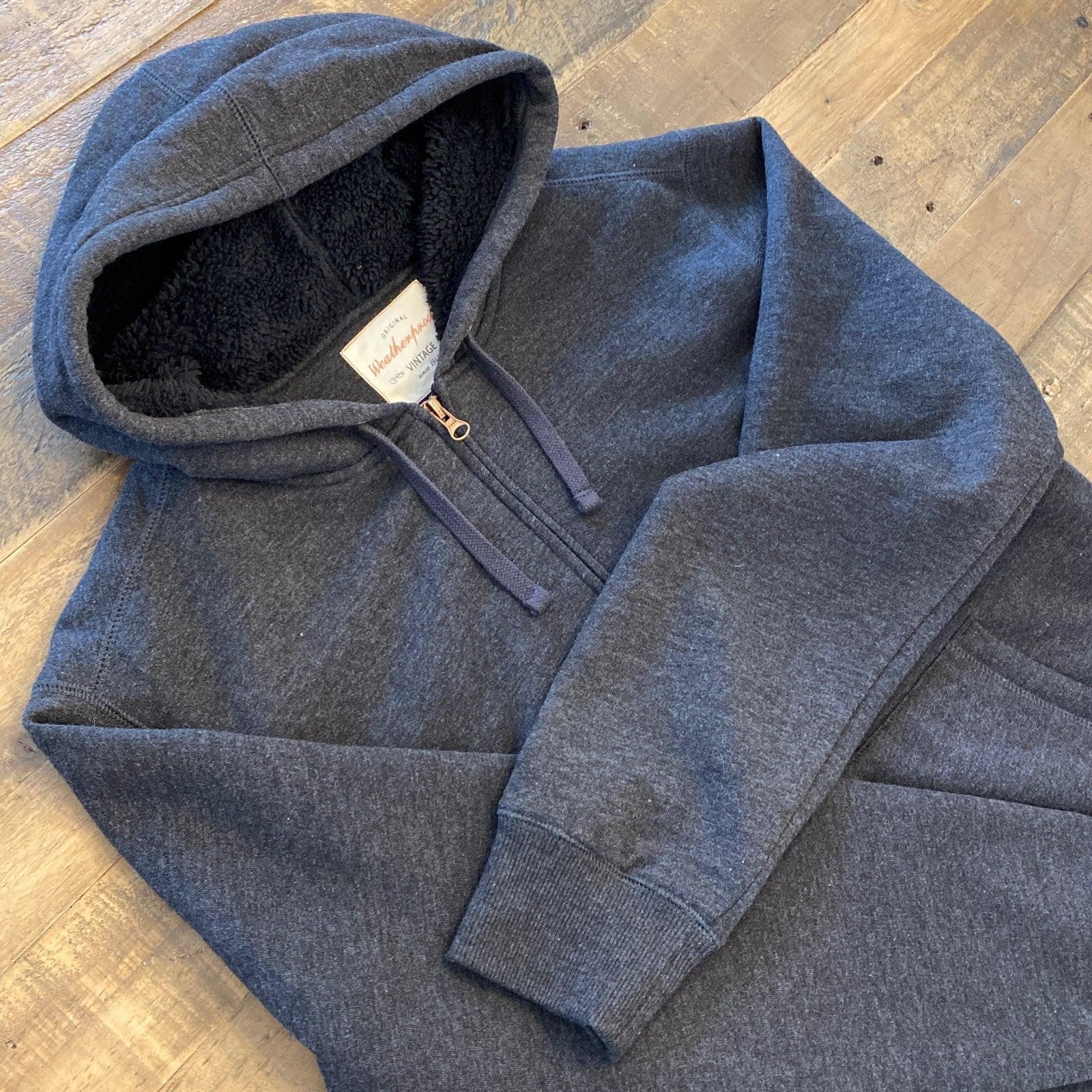 Men's sherpa lined hoodie