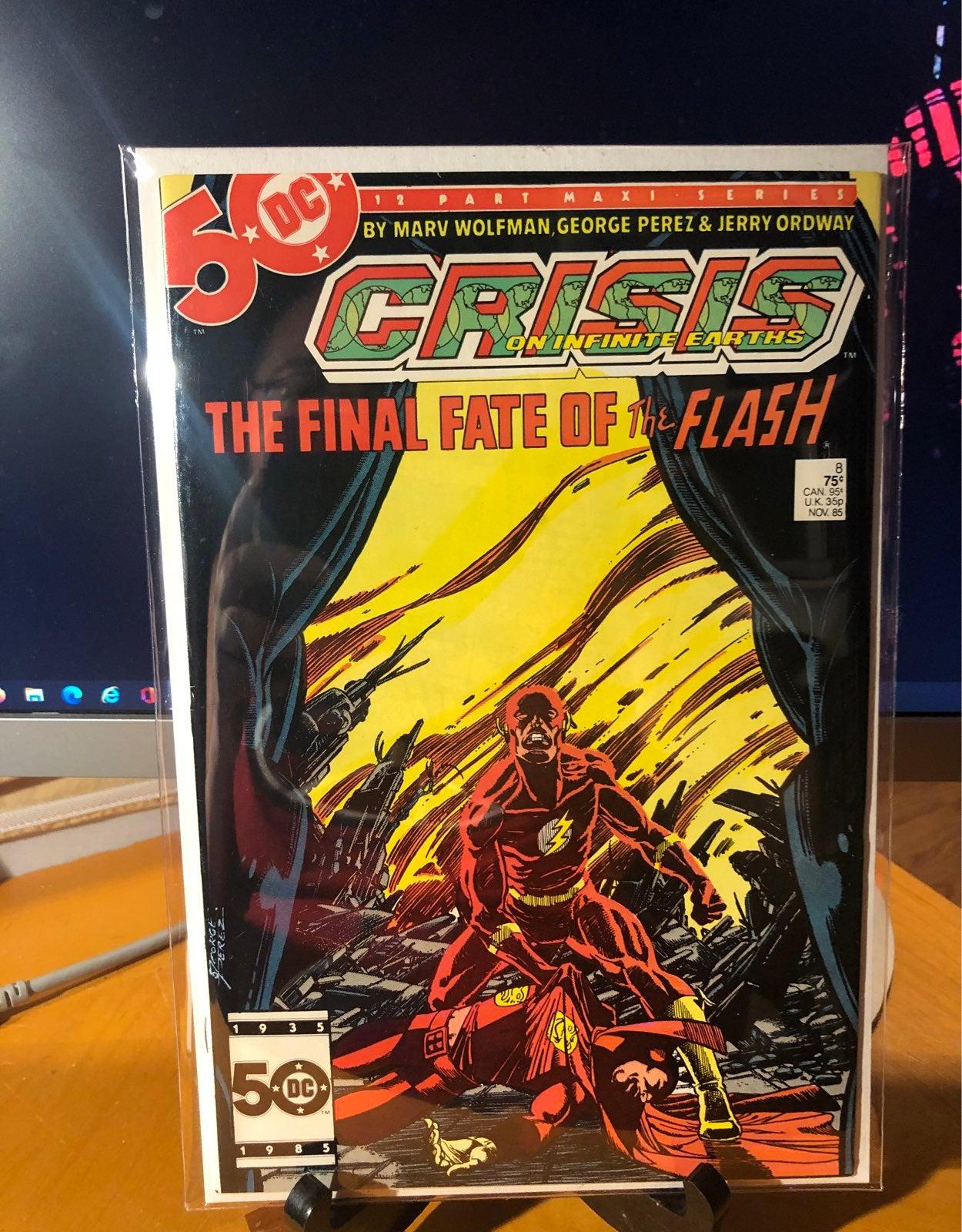Crisis on Infinite Earths 8 Flash key