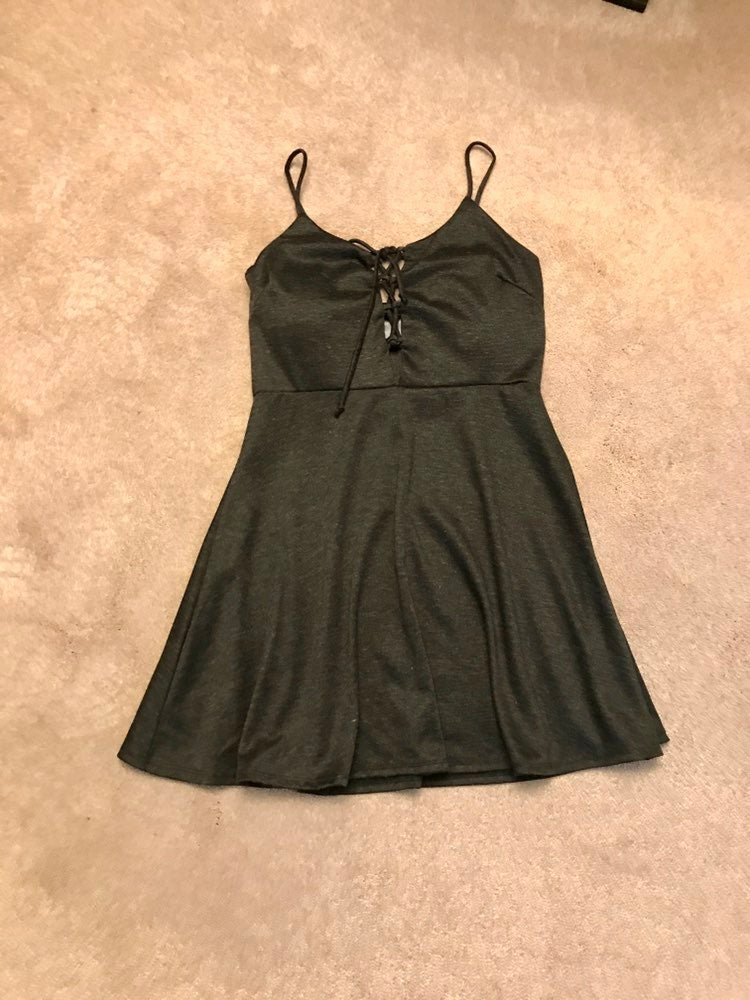 Wet Seal Lace Up Dress