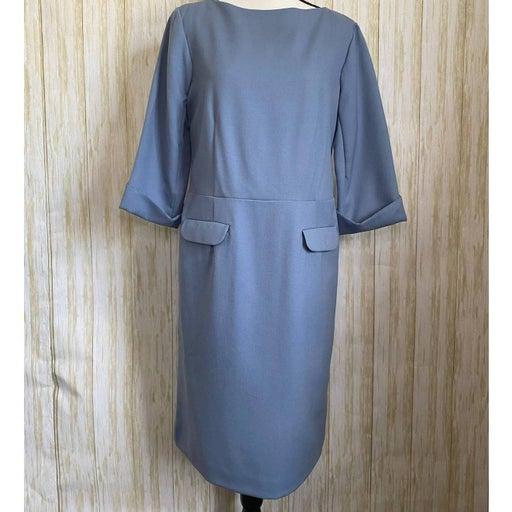 Pendleton Virgin Wool Blue Dress Size 12