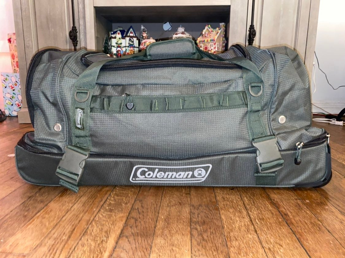 Coleman! Big Dufflebag on Wheels!