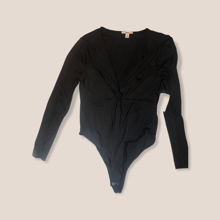 Bar III black bodysuit size XL