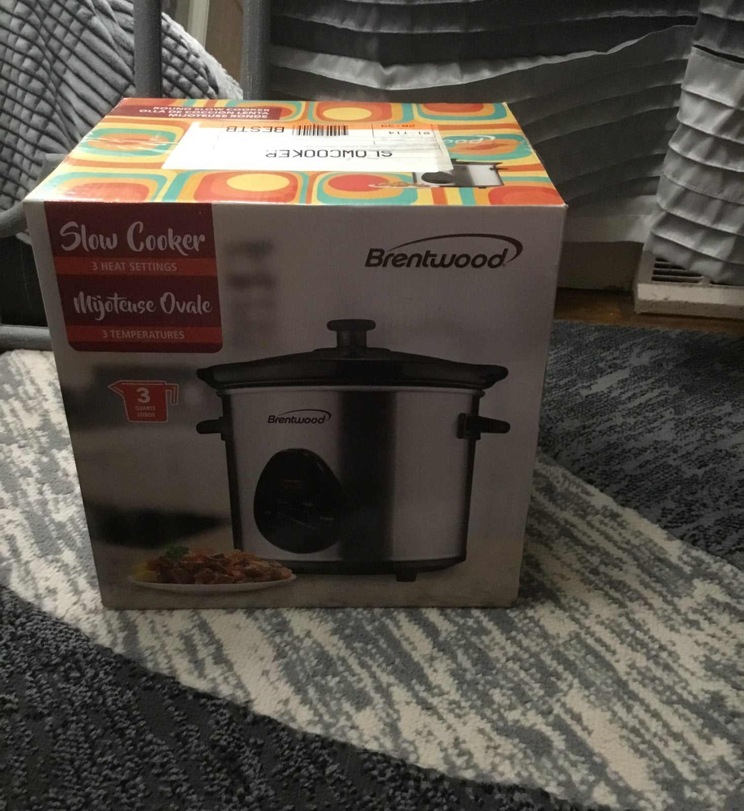 Brentwood 3q slow cooker new