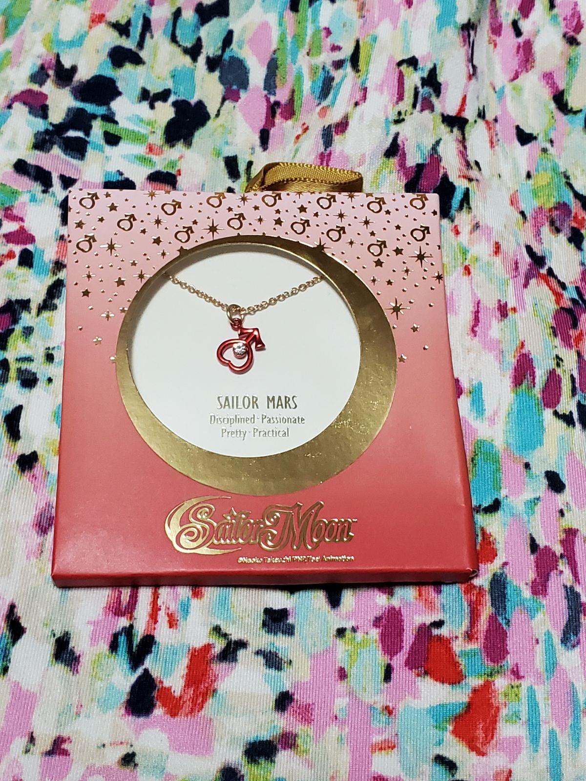 Sailor Moon Sailor Mars Cute Necklace