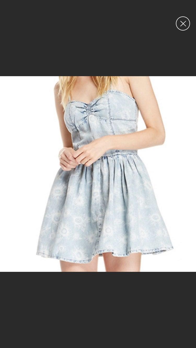 Res Denim Sunflower Jean Dress
