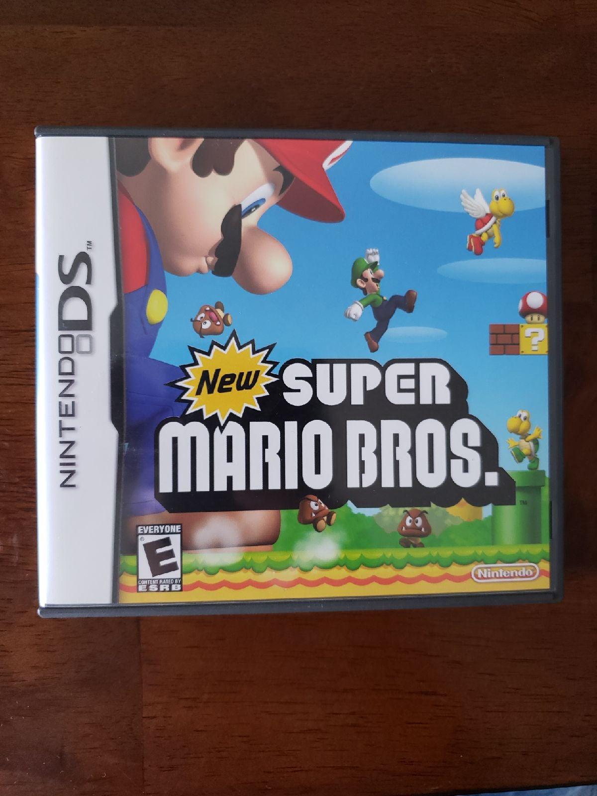 New Super Mario Bros. on Nintendo DS