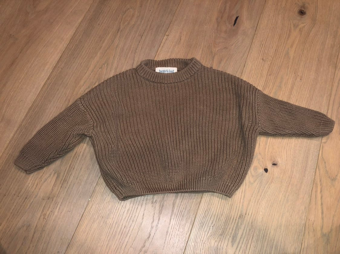 Bettrkind chunky knit Sweater