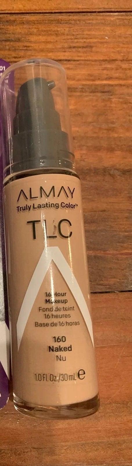 Almay mascara and foundation+free gift