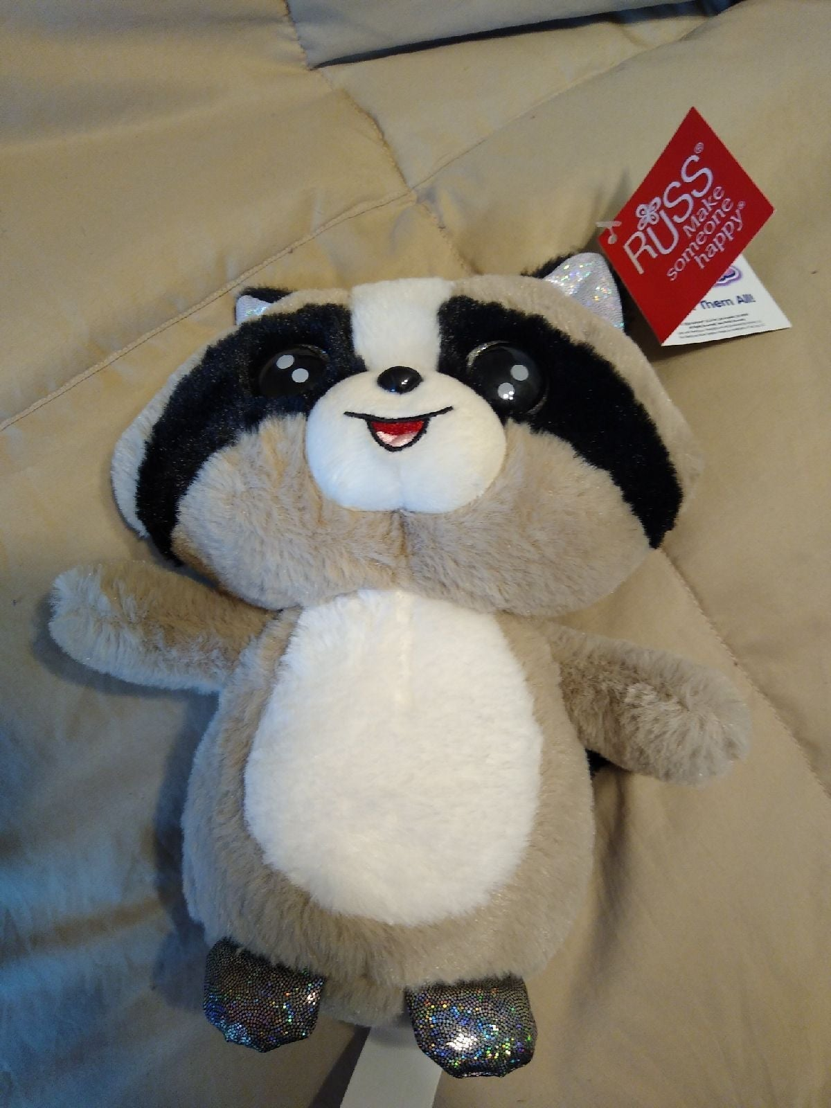 Russ Lil Peepers Racoon New