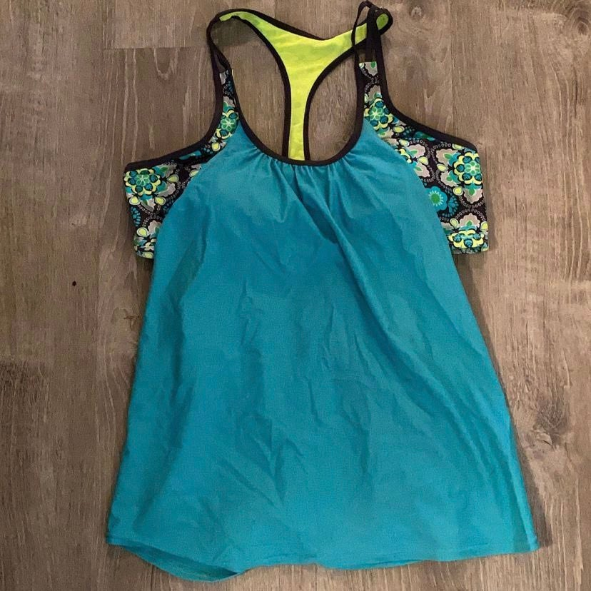 T-Back Push up Tankini Top only Size Sma