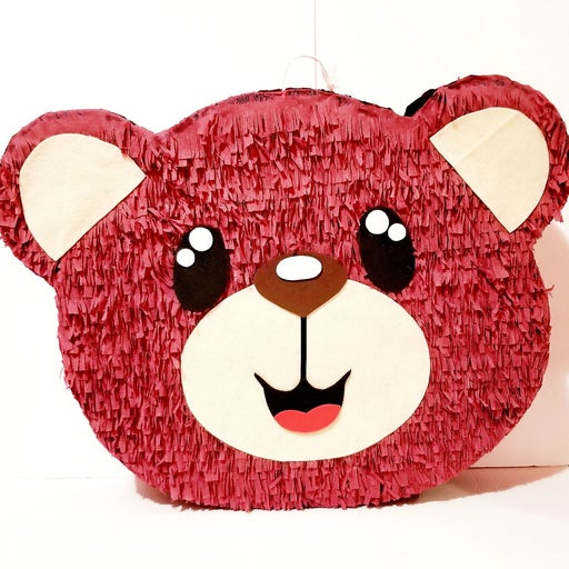 Handmade Bear Head Piñata