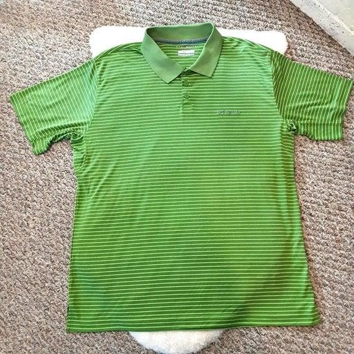 Columbia Omni-Shade Green Polo Shirt