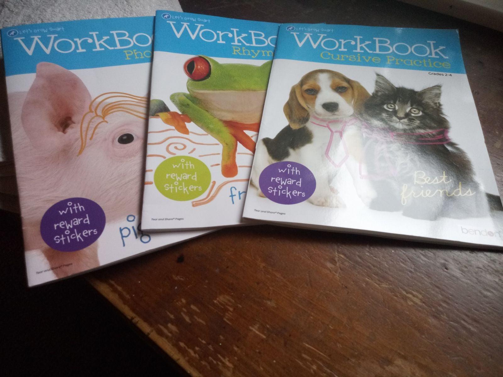 Work Book Grades 1 through 4 Set