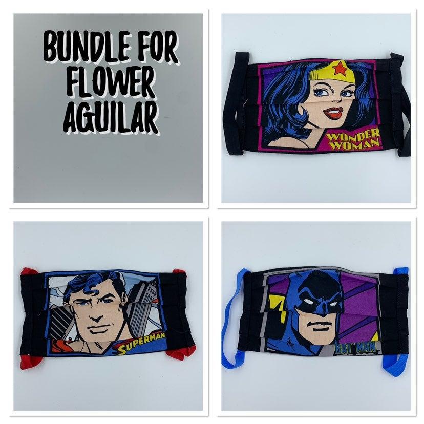 Protrait Facemask bundle for Flower A