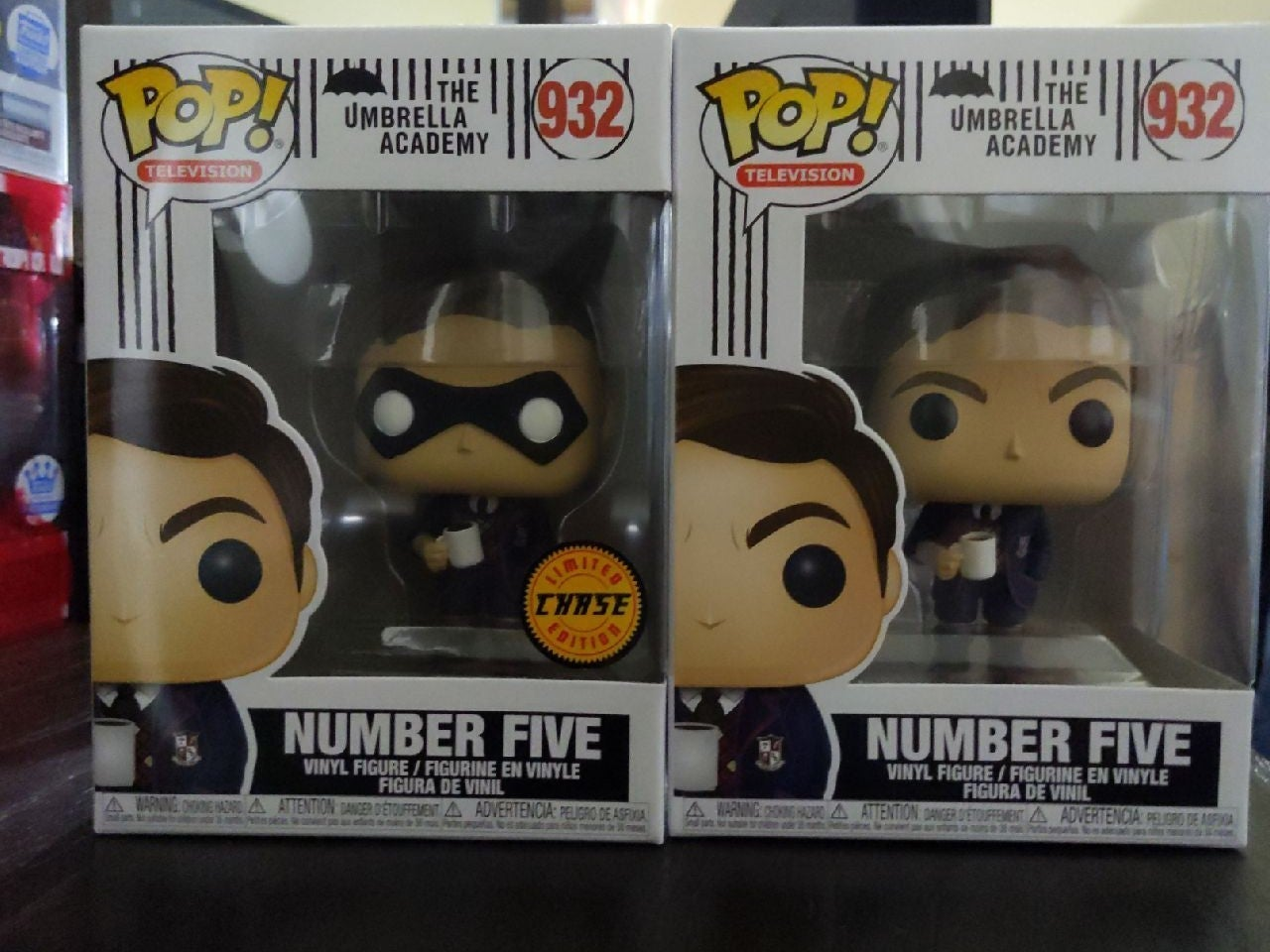 Number 5 Chase and Common Funko Pop