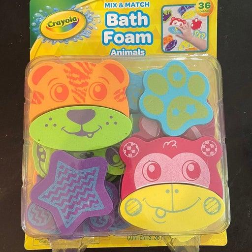 Crayola Mix & Match Bath Foam Animals