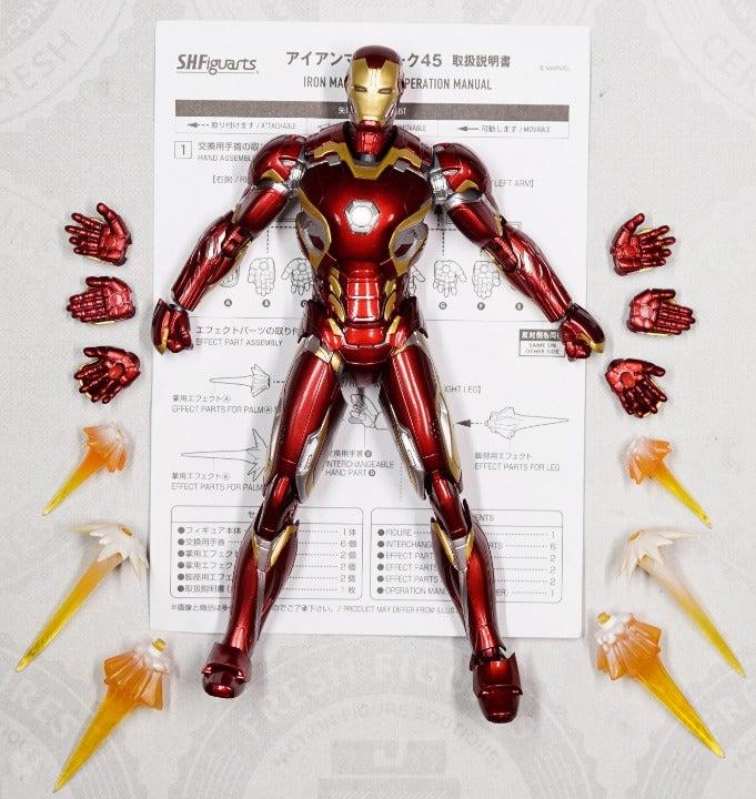 S.H. Figuarts Iron Man MK-45