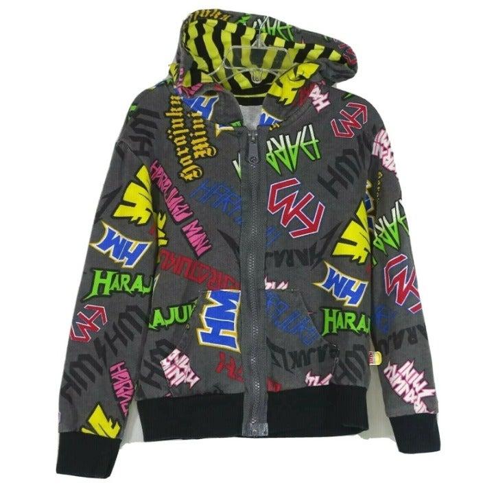 Harajuku Mini Target Hooded Jacket 5T