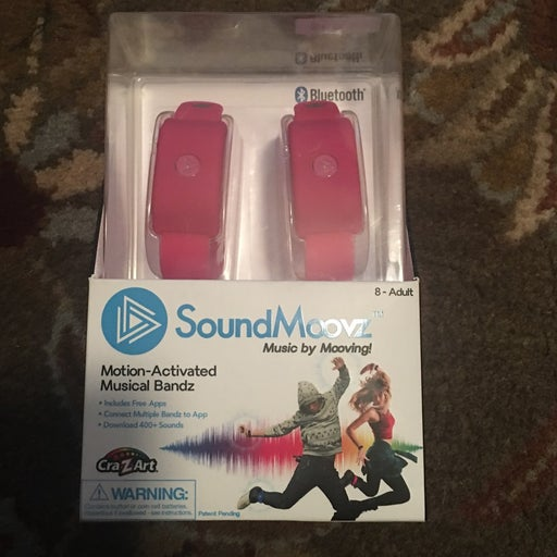 New Sound Moovz Motion Activated Musical