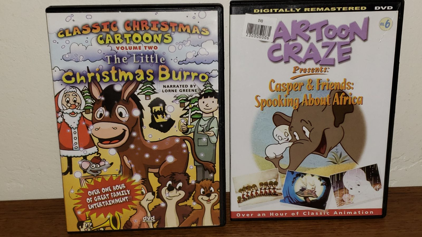 Cartoon DVD's
