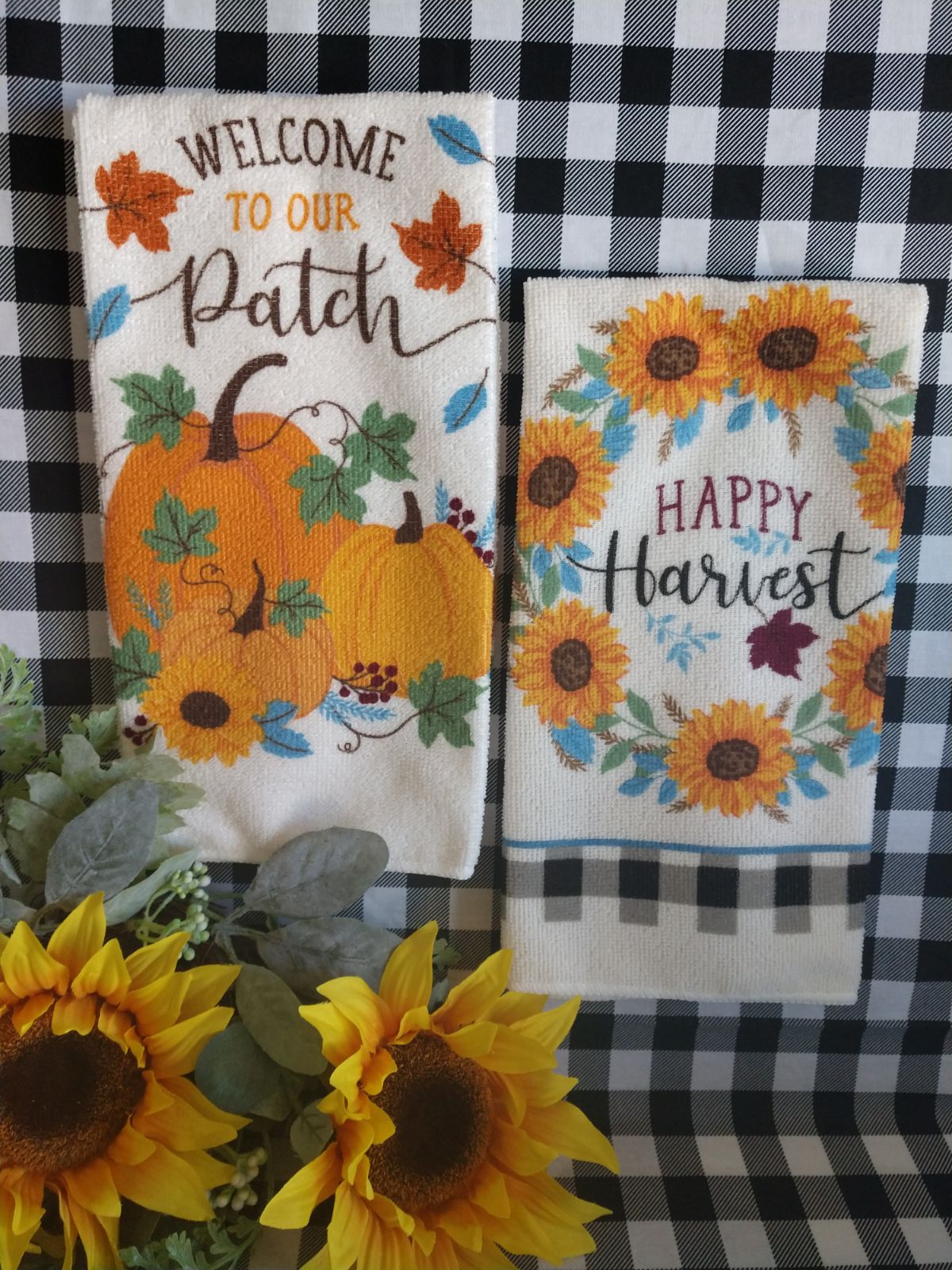 Fall Kitchen Towel Set