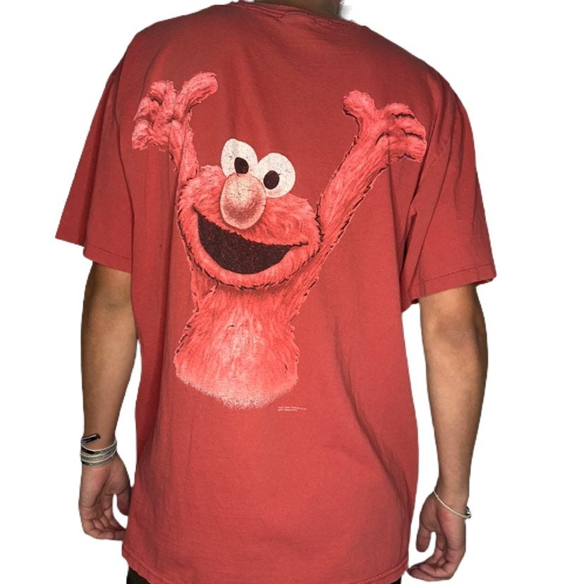 Vintage Elmo Double-Sided Graphic Tee