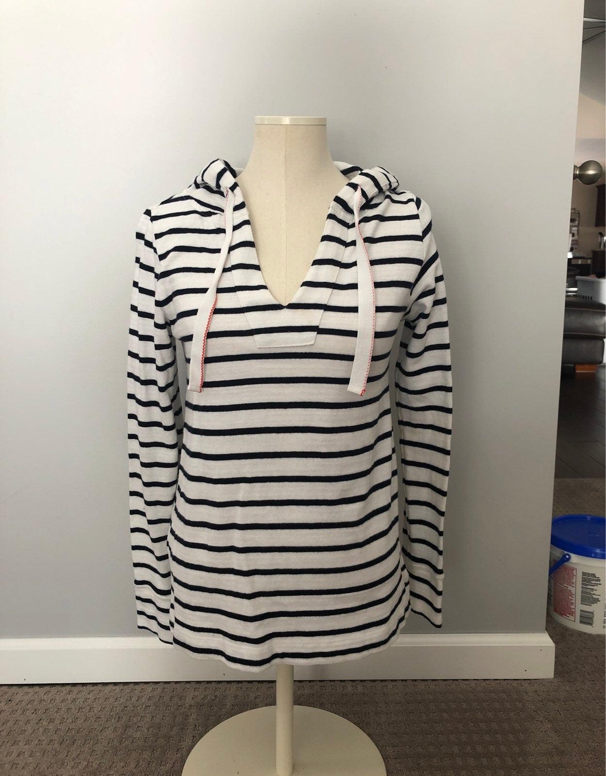 Loft Striped cotton sweatshirt