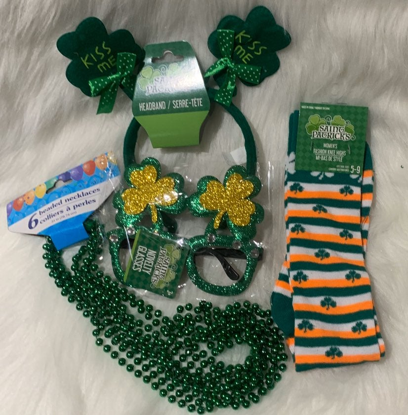 St Patricks Day Novelty Accessories Lot