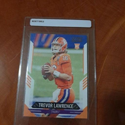 Trevor Lawrence rookie card Mint